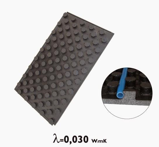 Suelo radiante el sistema de calefacci n m s eficiente arquitectura - Material suelo radiante ...