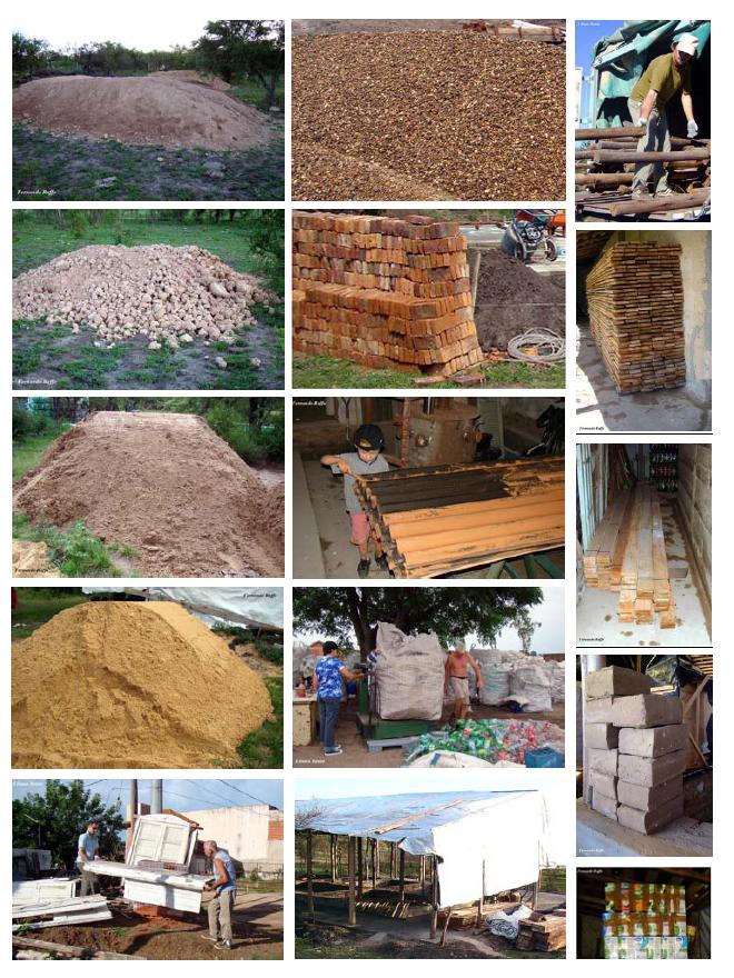 Vivienda rural bioeficiente arquitectura y energ a - Cano materiales de construccion ...