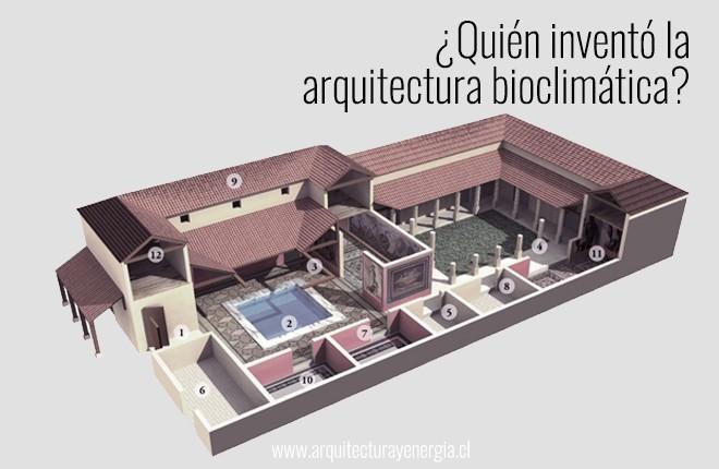 ¿Quién inventó la arquitectura bioclimática?